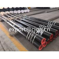 China Hot Rolled Steel Tube / Seamless Round Tube With Plastic Caps wholesale