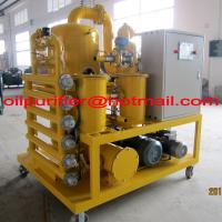 Cable Oil Vacuum Dehydrator Purifier for Power Station transformers remove water impurity Manufactures