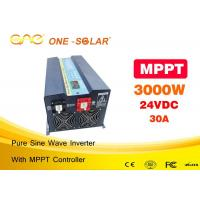 China High Efficiency Off Grid 3000w Pure Sine Wave Inverter / House Power Inverter on sale