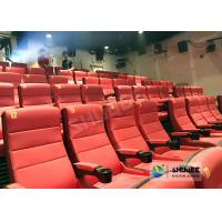 Safety 4D Movie Theater Equipment With Special Effect And Soft Sliver Screen Manufactures