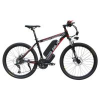 Waterproof Electric Mountain Bicycles Aluminum Alloy Frame LED Headlight Manufactures
