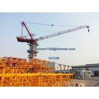 QTD4015 Luffing Jib Crane Tower Inner and External Climbing Type 6T Load Manufactures