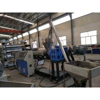 Double Screw PVC Foam Board Machine / WPC Board Production Line Manufactures