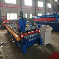 Roof Panel Corrugated Roll Forming Machine For Purlin 4Kw 20 m / min speed Manufactures