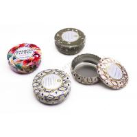 Premium Voluspa Round Candle Small Tin Boxes With Print And Embossing Manufactures