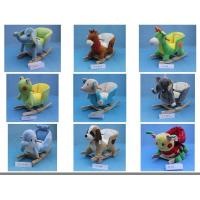 Lovely Animal Plush Baby Rocking Chair Collection For Baby Ride on Playing Manufactures