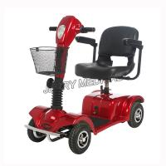 Outdoor Lightweight Mobility Scooter Flip Up Armrest With Standard Backrest Manufactures