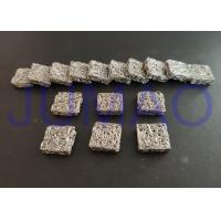 China Square Aluminium Knitted Mesh Filters With Low Frequency Magnetic Shielding on sale