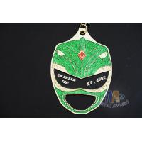 Buy cheap Glitter Colors Zinc Alloy Iron Or Brass Material Bespoke Design Custom Made Medals With Cut Out from wholesalers