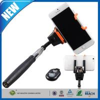 Bluetooth Monopod Shutter / Adjustable Phone Holder For iPhone Manufactures