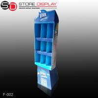 custom compartment floor display stand for chews Manufactures