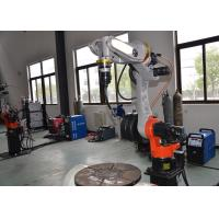 Armlength 1400mm Miller Mig Welding Machine Touch Sensing Mechanized Programmable Manufactures