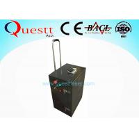 China 100W Laser Rust Removal Equipment Reomver Metal Rust Painting Oxide Coating on sale