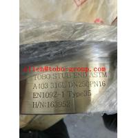 STUB END ASTM A403 316L DN250PN16 EN1092-1 Type35  BW, as per DIN 2642 Manufactures