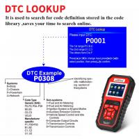 China TFT Color Display Auto Scanner Obd Ii Code Reader Support Detect Battery Voltage on sale