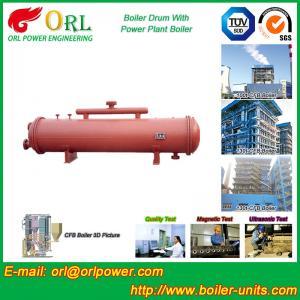 Floor Standing CFB Boiler Drum Non Toxic , Steam Drum In Boiler Manufactures