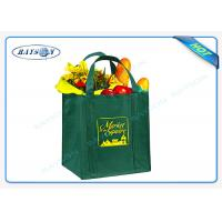 80/90/100 gsm non woven PP promotional bags with  reinforced handles Manufactures