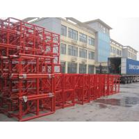 Mast Building Construction Material Lifting Hoist Parts Customized Color  Painting Manufactures