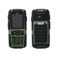 MIL-STD-810G Unlocked Quad Band Cell Phones , TFT LCD Dual Sim military Standard cellphone Manufactures