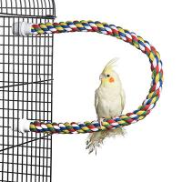 small bendable cotton rope perch for birds,lovebirds and conures Manufactures
