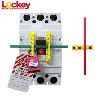 ABS Oversized Circuit Breaker Blocker Bar Lockout Lock Mccb With 190mm Rod Manufactures