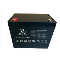 High Deep Discharge VRLA Deep Cycle Battery 75ah 12v for PV Systems and Wheelchairs Manufactures