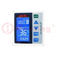 China 12KW Air Source Heat Pump Water Heater Control System With Touch Screen on sale