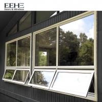 Powder Coated Awning Aluminum Windows , French Window Door Awnings Aluminum Manufactures