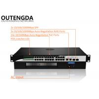 China 24 Port POE Ethernet Switch 400W High Power Compatible with Brand Camera on sale