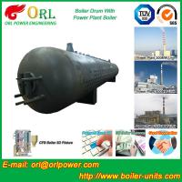 300 Ton Hot Water Carbon Steel Boiler Drum Water Proof Heat Insulation Manufactures
