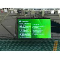 High Definition Football Stadium LED Display P6 SMD3535 No Distortion Manufactures