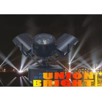 Professional Stage lighting Three Heads Search Light for Indoor Dj KTV Party Disco , Aluminum Shell Manufactures