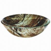Bathroom Sink/Basin/Bowl with Double Layer Glass Sink Manufactures