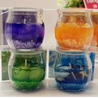 China Glass Gel Candle on sale