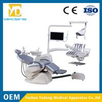 China Dental Unit Folded With Top-mounted Tool Tray Linak Brand Motor on sale