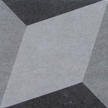 Dark Color Grey Patterned Floor Tiles Simple Pattern For Commercial Decoration Manufactures