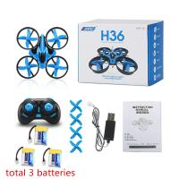 JJRC H36 2.4G Remote Control Drone Helicopter , Remote Control Quadcopter With Camera Manufactures