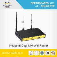 Support RS232/RS485 F3B32 dual card industrial cellular module router Manufactures