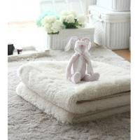 Hand Tufted White Aera Rug Plush Carpets From China Carpets Factory Manufactures