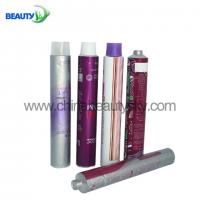 China Hair Color Cream Soft Aluminum tubes for Cosmetic Packaging 100ml,180ml on sale