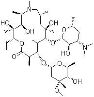 China Azithromycin Dihydrate CAS NO.117772-70-0 C38H76N2O14 Antimicrobials on sale