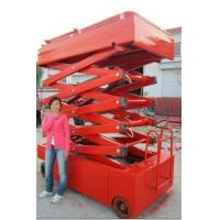 China self-propelled electric lift table on sale
