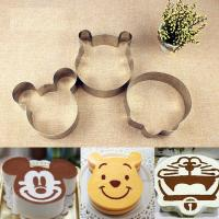 Disney Cartoon Mousse Ring Mold Fashion Stainless Steel Material For Bakery / Cake Mold Manufactures