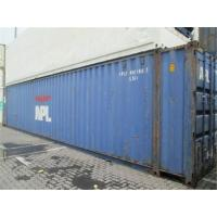 Used Steel Storage High Cube Shipping Container 45HQ  8 Into A New Manufactures