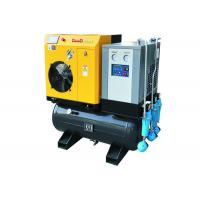 Combined Rotary Twin Screw Compressor 7.5HP Manufactures
