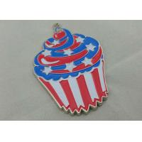 Zinc Alloy Engraving Carnival Medalby Antique Nickel Plating With Color Clown Logo Manufactures