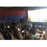Entertainment Genuine Leather Motion Chairs XD Theatre In 4XD Cinema Hall Manufactures