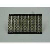 Black Thick PWB Printed Wire Board Immersion Gold Finish with Fiducal Marks Manufactures