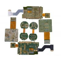 6 Layer Polyester FR4 And PI  Custom PCB Boards with Electroless Nickel Immersion Gold Manufactures