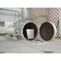 Chemical Concrete Autoclave with PLC control and hydraulic pressure door Manufactures